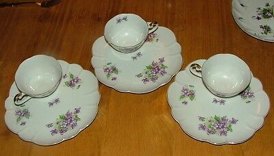 THREE LEFTON  SNACK  CUPS AND PLATES