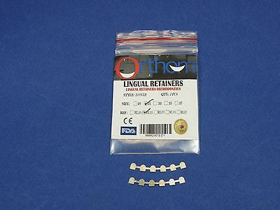 Dental Lingual Retainer Bonding Lower 3-3 With Mesh No 31 Kit /2 ORTHOM