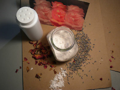 BODY POWDER CONTAINERS 1oz or 4oz or 8oz