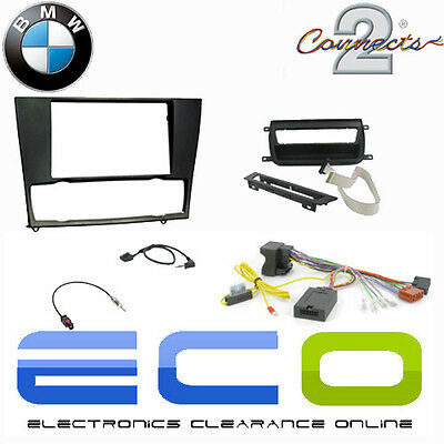 BMW 3 Series Complete Car Stereo Steering Wheel Double Din Fitting Kit T1-KBM01