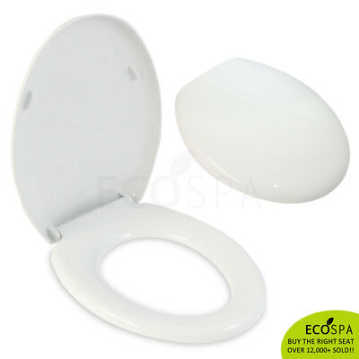 Luxury Soft Close Oval TOILET SEAT with Quick Release and TOP FIXING HINGES