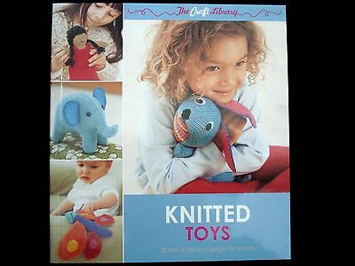 Knitted Toys Book 144 pages 25 Toy Designs Knit Yarn Wool FREE POSTAGE