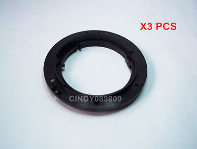 3 pcs New Bayonet Mount Ring For Nikon 18-135 18-55 18-105 55-200 MM Lens Repair