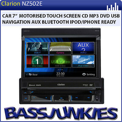 Touch screen car stereo with gps and bluetooth nz 14