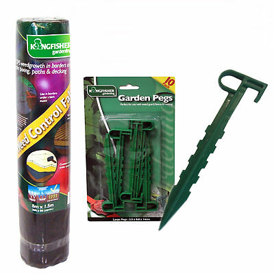 Weed control membrane, Garden pegs or assorted package deals for both items.