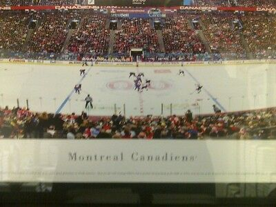 Montreal Canadiens Bell Centre NHL Panoramic Arena Photos Framed 43x18