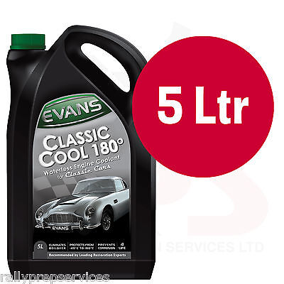 EVANS WATERLESS COOLANT. CLASSIC COOL 180 - 5 Litre - Jaguar MK 2