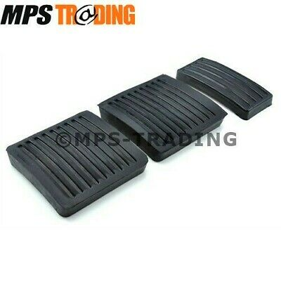 Land Rover Defender 90 110 130 Pedal Rubber Pad Set - 2 X 61K738 / 1 X 11H1781L
