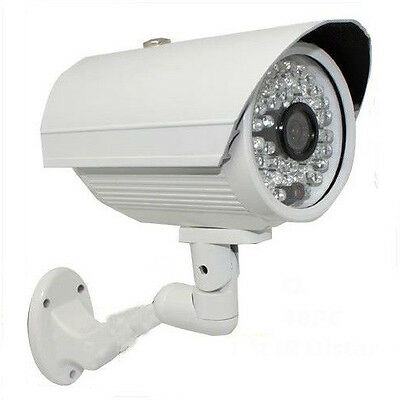 1300TVL 48Night Vision IR CUT Color Indoor Outdoor Security Camera Bullet CCTV