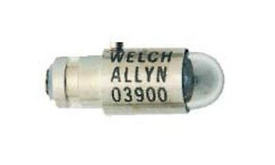 Real Welch Allyn Brand Bulb #03900-U 2.5V Halogen Lamp For 12810, New, Each