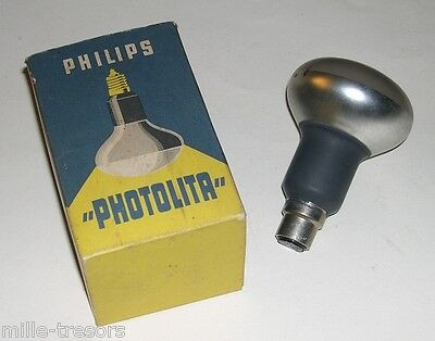 LAMPE PHOTO PHILIPS Gamme PHOTOLITA : 115V 250W - Type PF 217 B/43