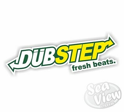 Dubstep Fresh Beats Car Stickers Decal Funny Sticker Slogan VW DUB EURO