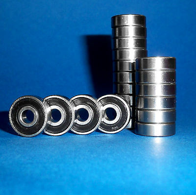 50 Kugellager 624 2RS / 4 x 13 x 5 mm