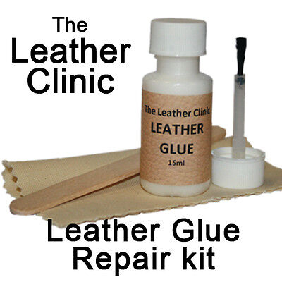 Leather Sofa & Chair Glue Repair Kit for Rips & Tears & Holes. Strong & Flexible