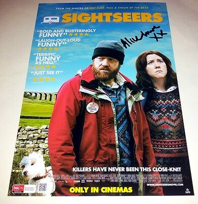 "Sightseers Pp Signed 12""x8"" Poster Alice Lowe"