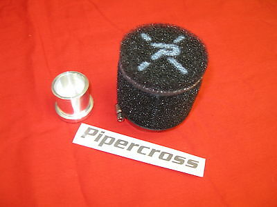 KIT Filtro pop off sfiato esterno Fiat 500 Abarth 1.4 T-Jet tjet Pipercross