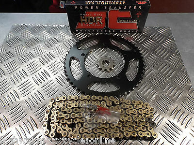 Generic Trigger 50 Sm Qj50Qt-22 Chain And Sprocket Kit Front Rear Chain New