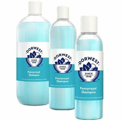 Dorwest Pennyroyal Shampoo 200ml, 500ml or 1ltr Dogs or Cats