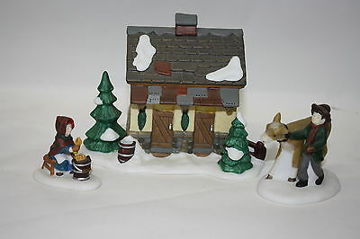 Dept 56 Dickens Village ~ Tending The New Calves ~ Mint In Box 58395