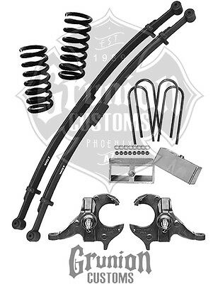 Mcgaughys 93150 Lowering Kit W 4 56 Drops For 73 87 Chevygmc C
