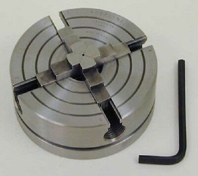 "Sherline1030 3.1"" 4 Jaw Independant Chuck [3/4 - 16] for Mini Lathe Made in USA!"