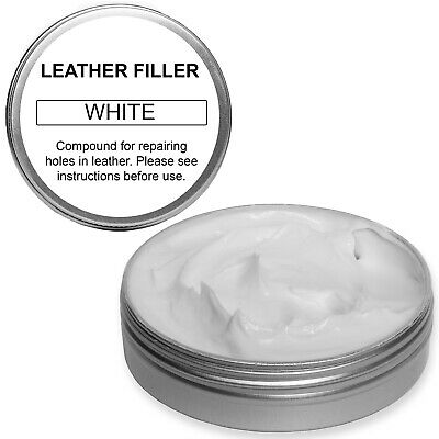 Leather Repair Filler Compound for cracks, burns, holes etc. Choice of Colours