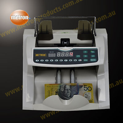 Commercial Grade Note Counter - Counts, Batches, Auto & Manual Feed