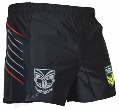 New Zealand Warriors NRL 2016 Footy Shorts Sizes S-4XL Rugby League