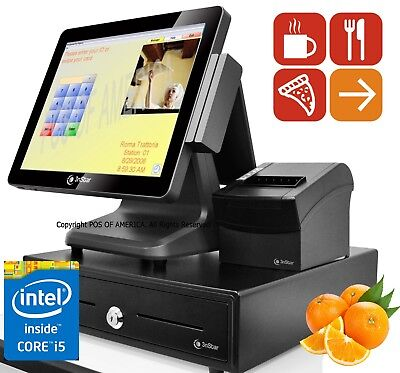 Bematech Logic Controls All-In-One System MSR 2GB Restaurant PRO Express POSNEW
