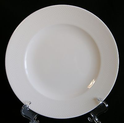 Villeroy & Boch Look Bread and Butter Plate(s) White Embossed HARD TO FIND EUC!