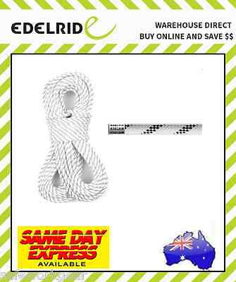 (100 metres) SNOW Edelrid Safety Super II 11mm Rope Static Climbing Gear Safety