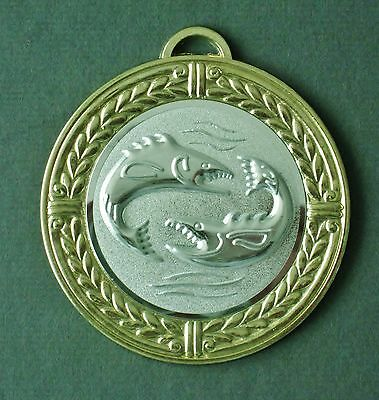 ANGELN - MEDAILLE   70mm   ++inkl. Band++