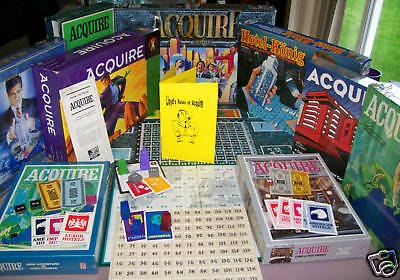 Lloyd's Rules of ACQUIRE W/Stock Price Extension - For Every ACQUIRE Game