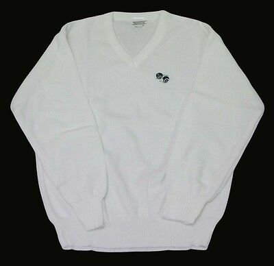 New Mens Lawn Bowling White Jumper Bowls Bowling Jumper  Size!!! S-M-L