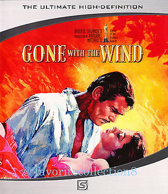 Gone with the Wind (1939) - Clark Gable, Vivien Leigh - Blu-ray DVD NEW