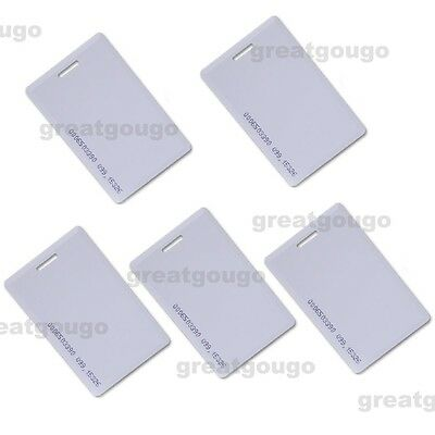 Proximity Identification 125Khz RFID ID/EM Card 1.9mm Thickness 5PCS