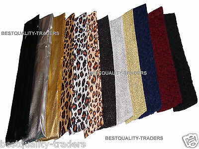 New Ladies Girls Stretchy Head Band Hair Wrap  Various Colours And Designs