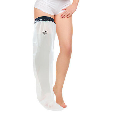 LimbO Waterproof Protector for Plaster Cast & Dressings - Full Leg