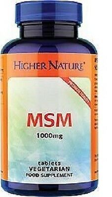 Higher Nature MSM 90 tabs