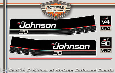 Johnson VRO 90HP Decals...we also install