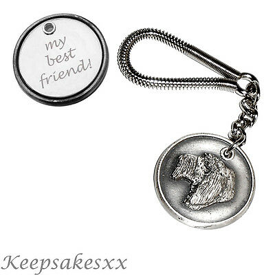 Italian Spinone - Dog Tag KEYRING  with PERSONALISED ENGRAVING