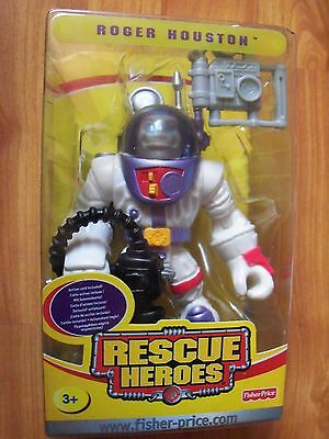 2004 Fisher Price Rescue Heroes Roger Houston NIP Ages 3+