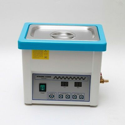 Stainless Steel 5L Liter Industry Heated Ultrasonic Cleaner Heater w/Timer