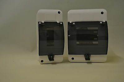 3 or 5 Way MCB's, RCD's, timer enclosure, MCB Box, Plastic enclosure.Fuse Box,