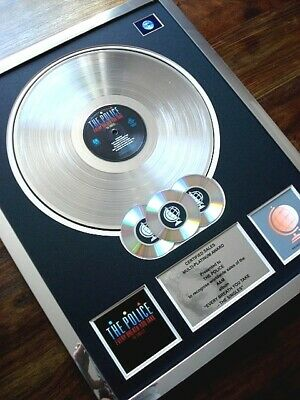The Police Every Breath You Take The Singles Lp Multi Platinum Disc Record Award