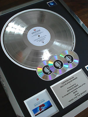 Depeche Mode Music For The Masses Lp Multi Platinum Disc Record Album Award