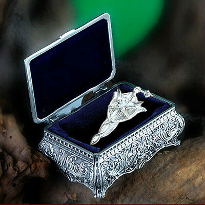 Fashion Jewelry Arwen Evenstar Necklace with Metal Gift Case Packed from LOTR