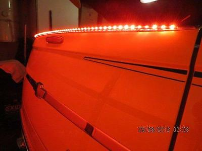 CHEVY SSR TAILGATE FIN WITH LIGHTING - NEW! SPECIAL PRICE
