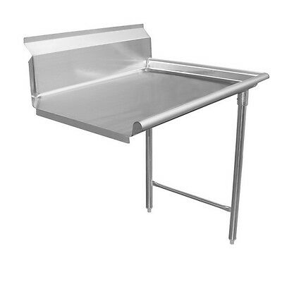 """Dishtable 36"""" Clean - Right Side, Stainless Steel"""
