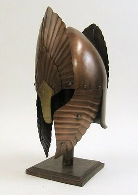 Lord Of The Rings Armor Helmet ~ Bronze Finish ~ Medieval Knight Crusader ~Armer